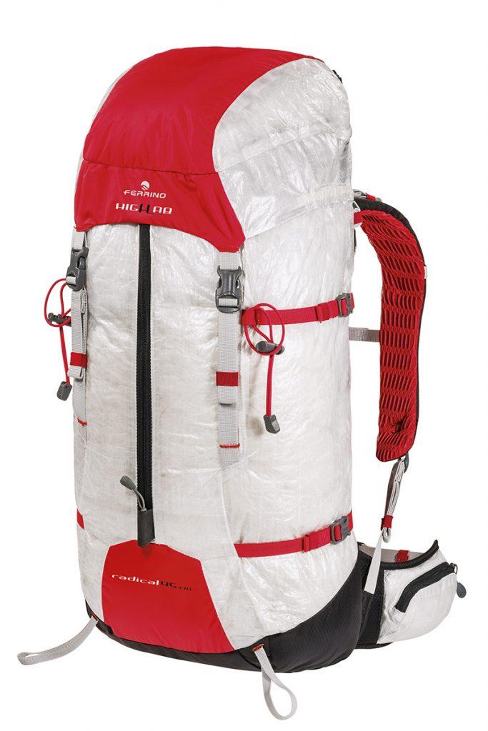 Radical di Ferrino: zaino da alpinismo di prima classe, leggerissimo, robusto, multiuso