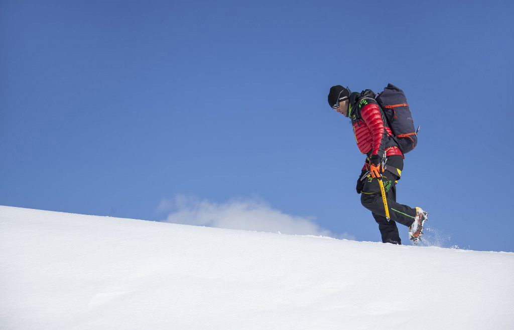 Il fortissimo alpinista Valtellinese Marco Confortola