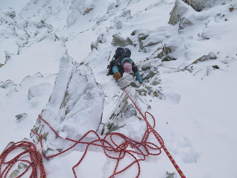 Tamara Lunger in Siberia climbing Pik Pobeda - Ph Matteo Zanga