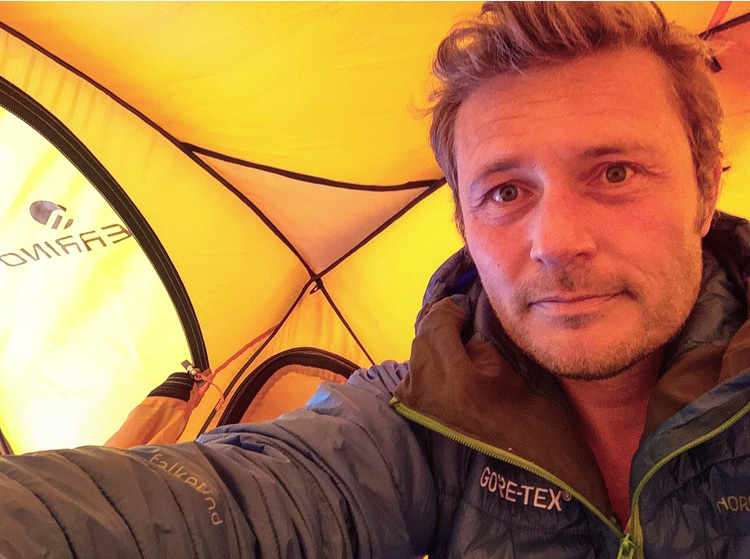 Alban Michon, French polar explorer, expert in extreme diving, especially ice diving and cave diving is ready to go for his new ARKTIC expedition.