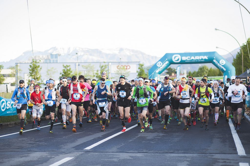 DueRocche Trail 2018, SCARPA sostiene il trail running nel territorio veneto e si riconferma main sponsor della storica corsa podistica nel trevigiano in programma il 25 aprile, qualificante per l'UTMB e parte del Grand Prix Iuta di Ultratrail.