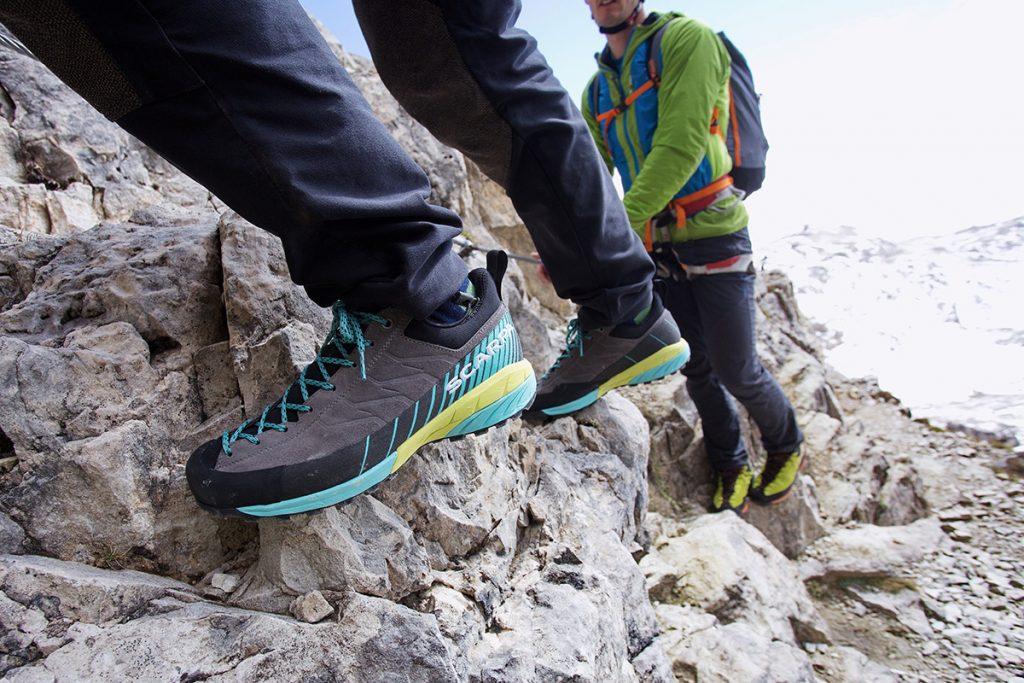 Mescalito, scarpa extra leggera di SCARPA per l'avvicinamento
