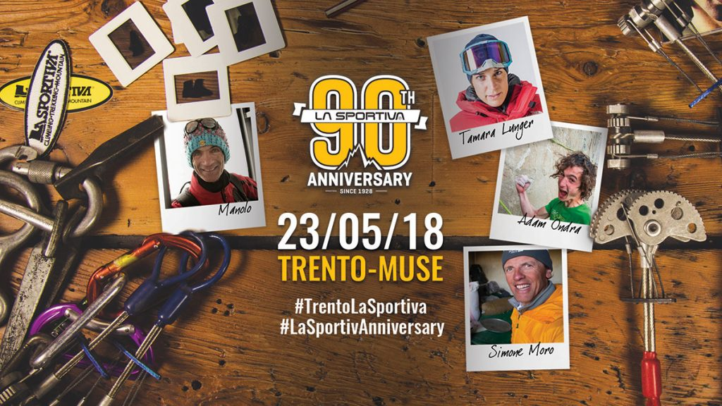 On May 23rd La Sportiva celebrates the ninetieth anniversary of its foundation in 1928 with a maxi-event open to the public at the park of the Muse in Trento and in the city centr