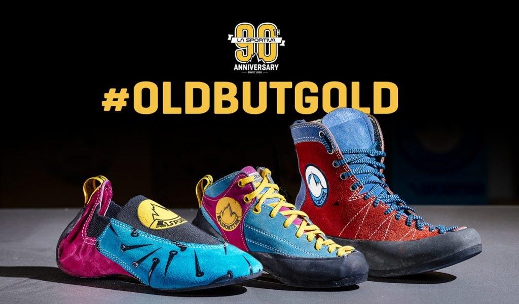 To celebrate its 90° anniversary La Sportiva involves the community in a photo contest on Instagram # OldbutGold, share your vintage photo and win!