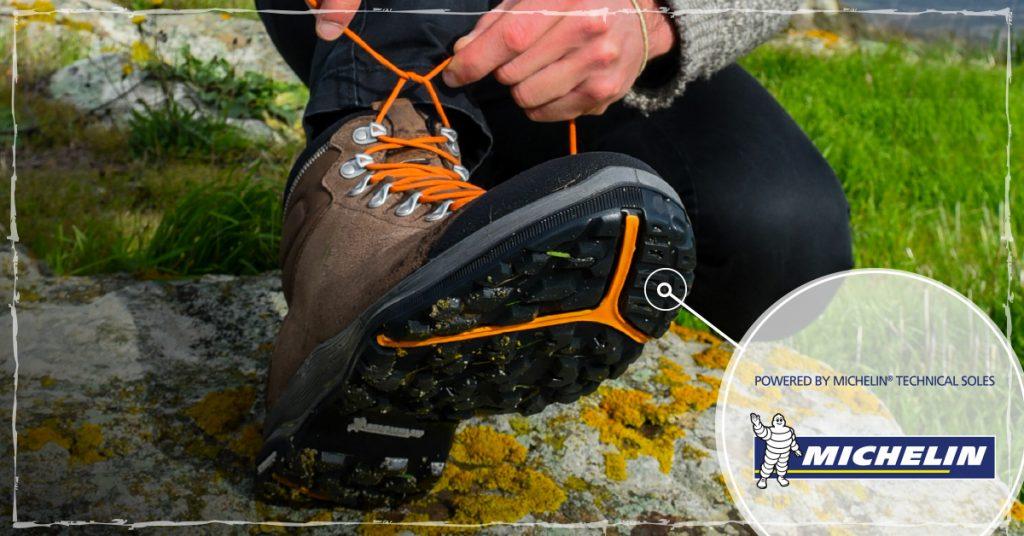 AKUe Michelin Technical Soles: nasce Pulsar, la nuova suola multiterrain ad elevate prestazioni per camminare outdoor su terreni irregolari.