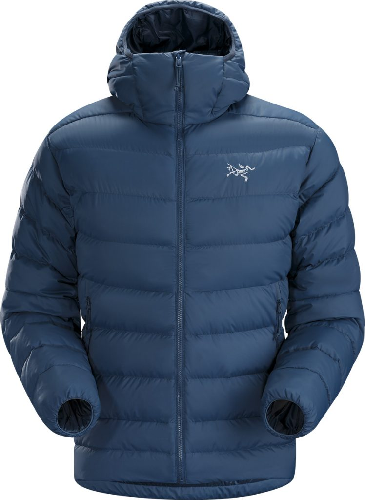 Down hoody Thorium AR for alpinism by Arcteryx