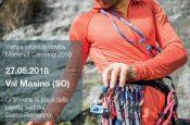 Il Mammut Climbing Test Day 2018 domenica 27 maggio in Val di Mello (Val Masino, SO), occasione per provare tutte le novità riguardante l'arrampicata