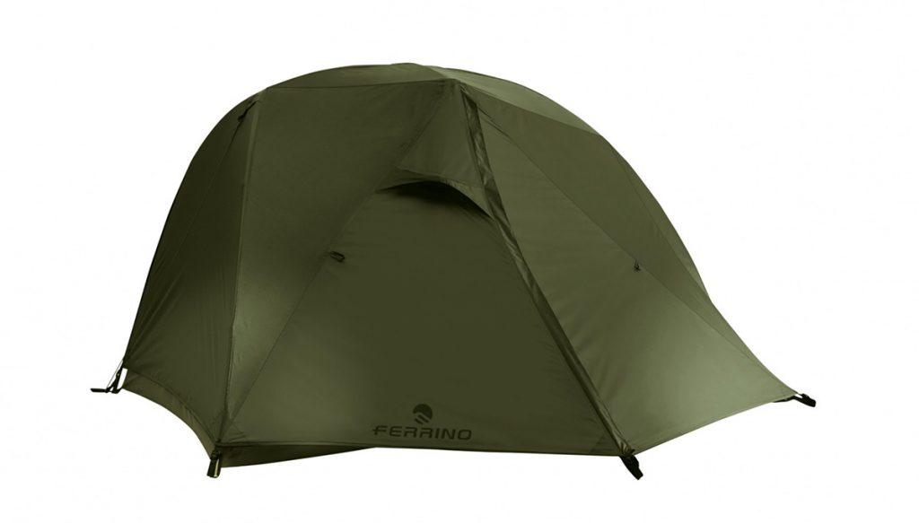 Tenda ultraleggera Nemesi 2 da 2 posti, affidabile, abitabile e facile da montare per il trekking ed i viaggi itineranti in bici.