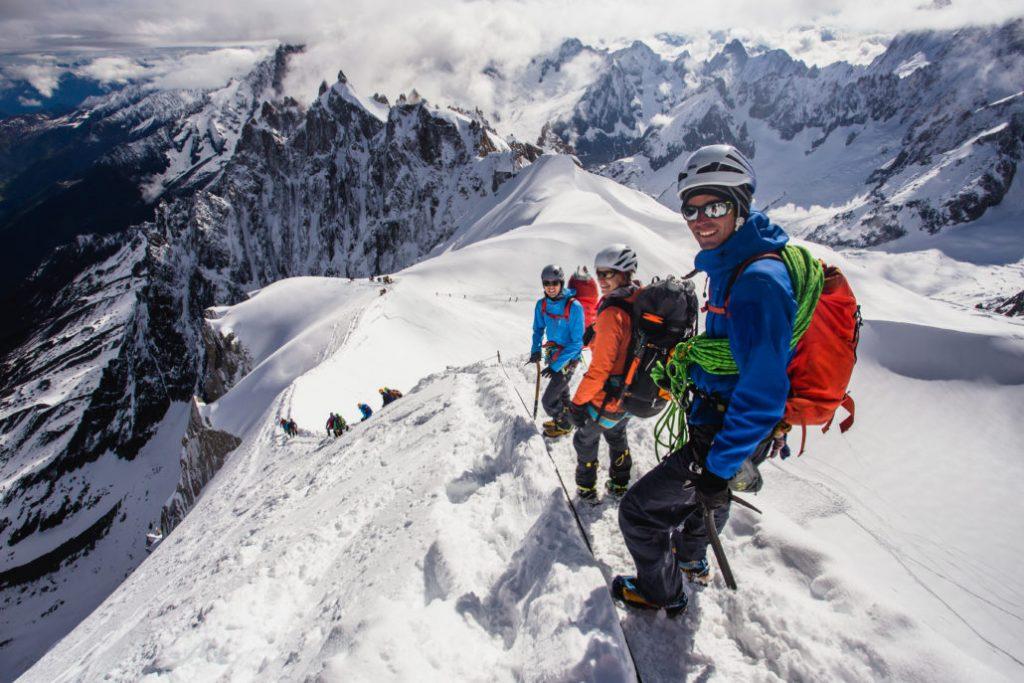 Arc'teryx Alpine Academy 2018: dal 5 all'8 luglio vi aspetta il più importante evento formativo sull' alpinismo d'Europa nel cuore di Chamonix-Mont-Blanc.