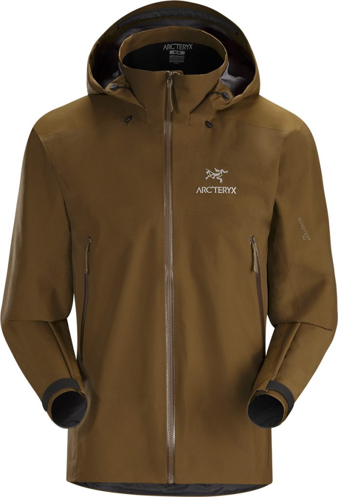 Goretex ski and climbing jacket Beta AR by Arcteryx, lightweight and waterproof.