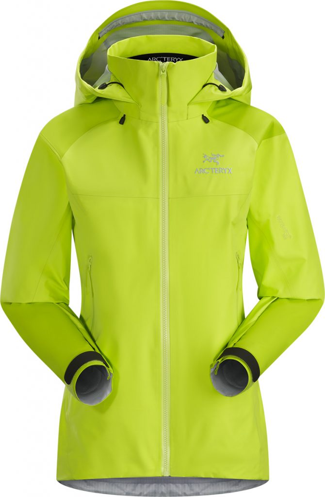 Goretex ski jacket Beta AR by Arcteryx, lightweight and waterproof; ideal for skiing, climbing and all backcountry activities.