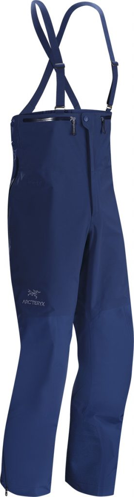 Ski Salopettes Beta SV Bib by Arcteryx, for skiing and mountaineering