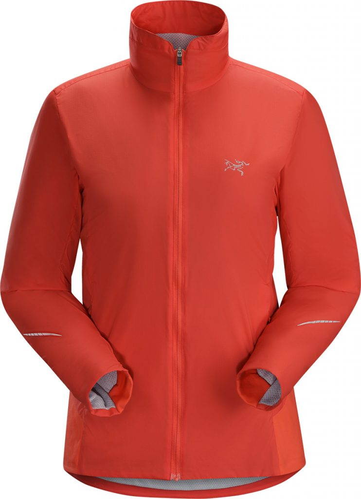 Trail running jacket Gaea Jacket for women by Arcteryx