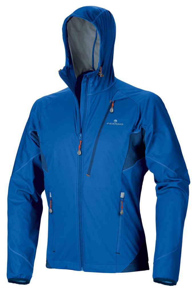 Softshell jacket Hoste Jacket di Ferrino: soft, light, windproof, breathable and water repellent
