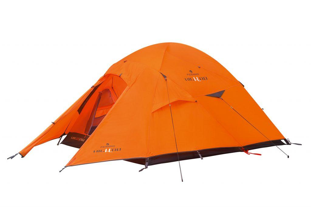Tenda 3 posti Pilier 3 per alta quota di Ferrino per la montagna