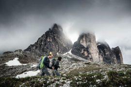 Simon Gietl e Vittorio Messini in 47 ore e 16 minuti hanno salito in nord dell'Ortles, la Cima Piccola di Lavaredo e la nord del Grossglockner in Austria spostandosi a piedi o in bici.