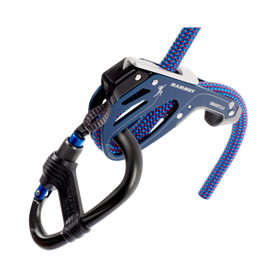 More safety for children and beginners: the Smarter reduces the risk of misuse, particularly by children and beginners. If necessary, it can be easily removed from the Smart 2.0 and attached to the integrated loop on the climbing harness.