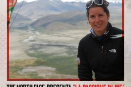 Incontro con l'alpinista del team The North Face Tamara Lunger a Udine