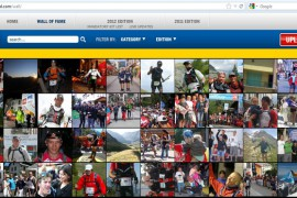 The North Face Ultra Trail du Mont Blanc Wall of Fame