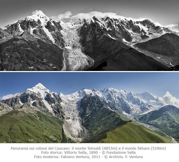 """Salewa: la mostra """"Sulle tracce dei ghiacciai"""" racconta 130 anni di cambiamenti climatici"""
