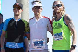 Timothy Olson sale sul podio della The North Face Transgrancanaria 2014