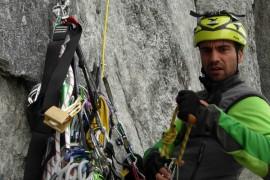 Salewa: Daniele Nardi parte all'attacco del Cerro Torre in Patagonia