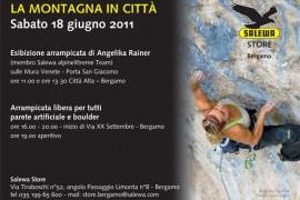 Salewa: Bergamo una città da scalare