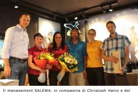 Salewa Store Aosta: la montagna arriva in città