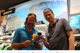 Salewa ad Aosta: Emozioni verticali in Piazza Chanoux