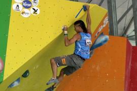 Salewa: Rustam Gelmanov vince il bronzo nel boulder