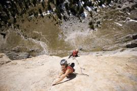 Salewa: Angelika Rainer a Orbassano (TO) per incontrare gli appassionati di arrampicata