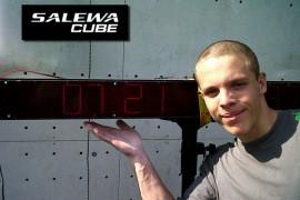 Record nazionale in Coppa Italia Speed all'interno del SALEWA CUBE