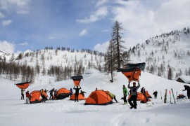 Ferrino al Telemarkarnival Back2Backcountry 2012