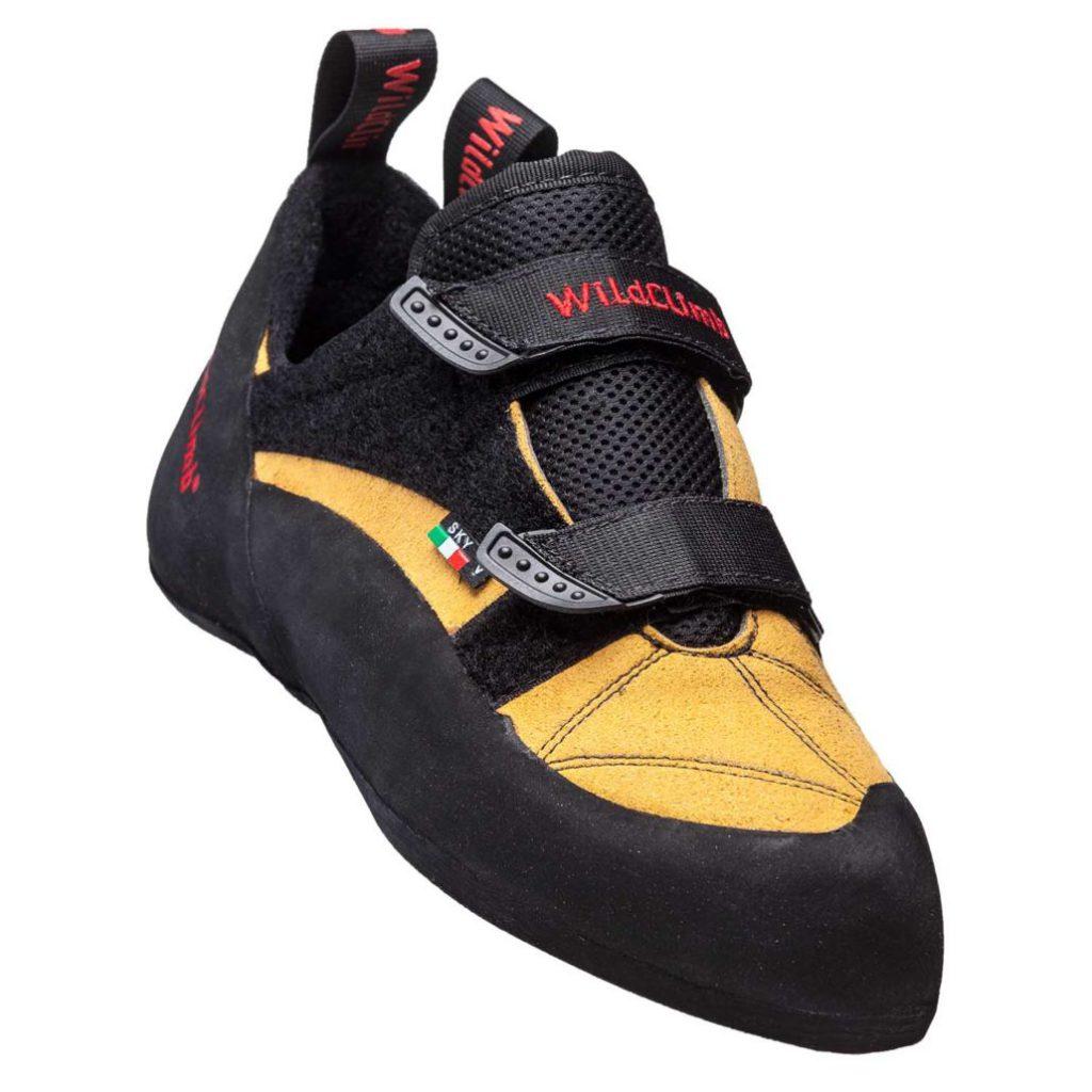 La scarpetta arrampicata Sky Velcro di Wild Climb è economica ma efficace e resistente nel tempo: scarpette d'arrampicata ideali per principianti.