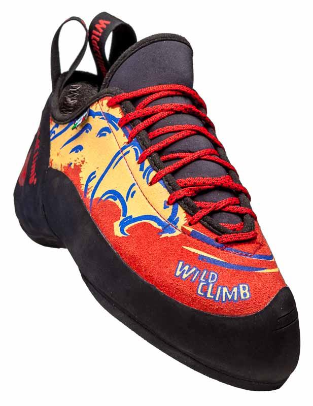 Pantera Wild Climb, scarpetta arrampicata per ogni tipo di scalata, un pezzo di storia che concilia performance e confort.