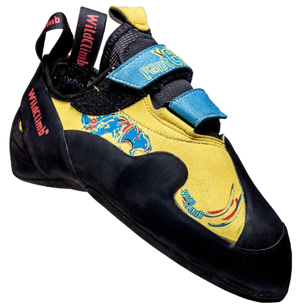 Le scarpette arrampicata e boulder Pantera Velcro Wild Climb, veloce da calzare, si pone come naturale evoluzione della serie Pantera.