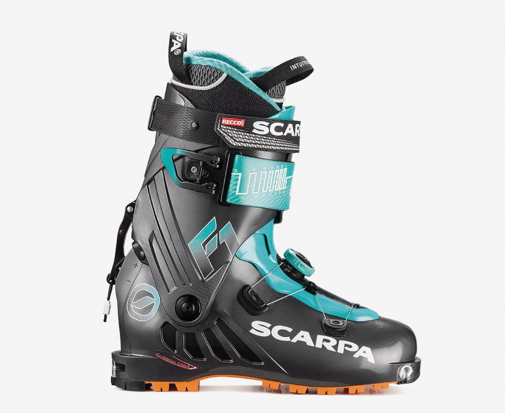 F1 WMN scarponi da scialpinismo per tutti gli scialpinisti.