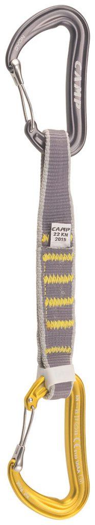 Il rinvio arrampicata Dyon Express KS da 18 cm