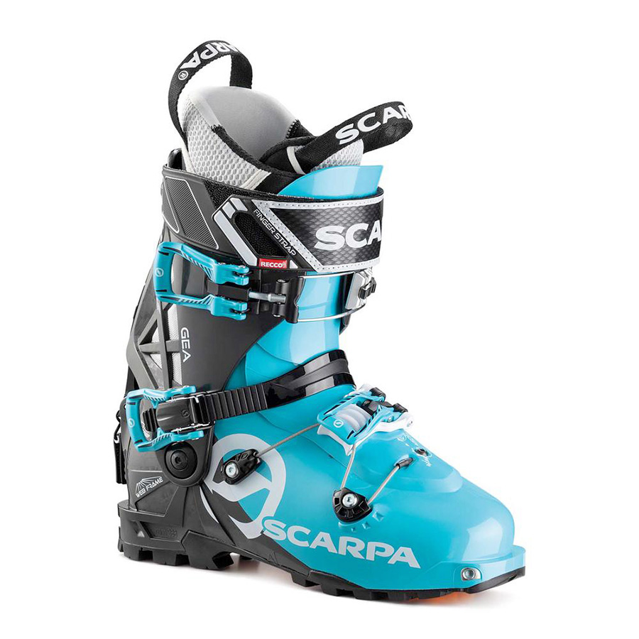 Alpine touring boot for women SCARPA Gea for classic ski mountaineering