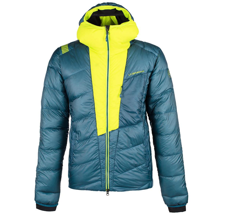 Piumino da montagna con cappuccio Command Down Jacket M di La Sportiva