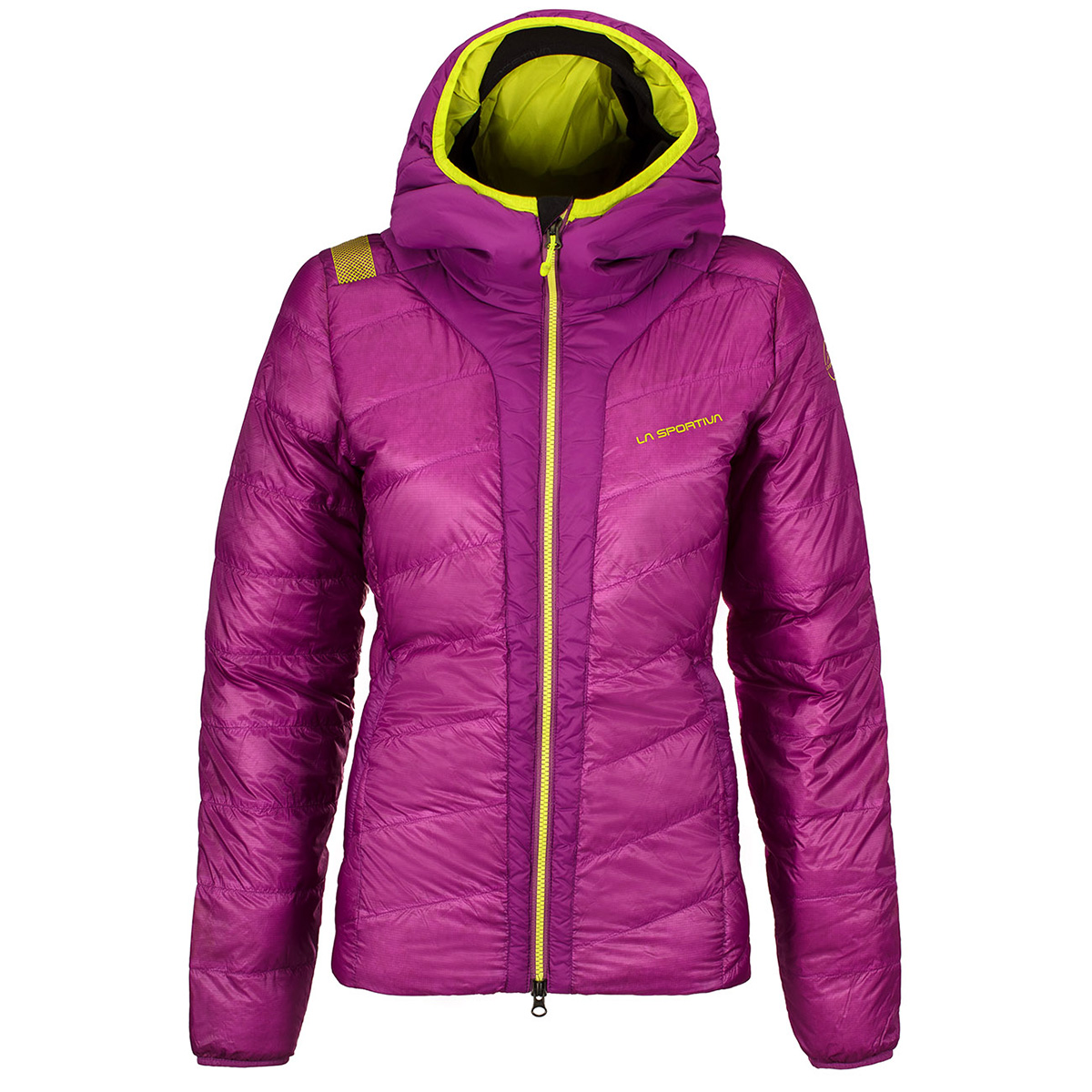 Piumino Frequency Down Jacket W con cappuccio integrato