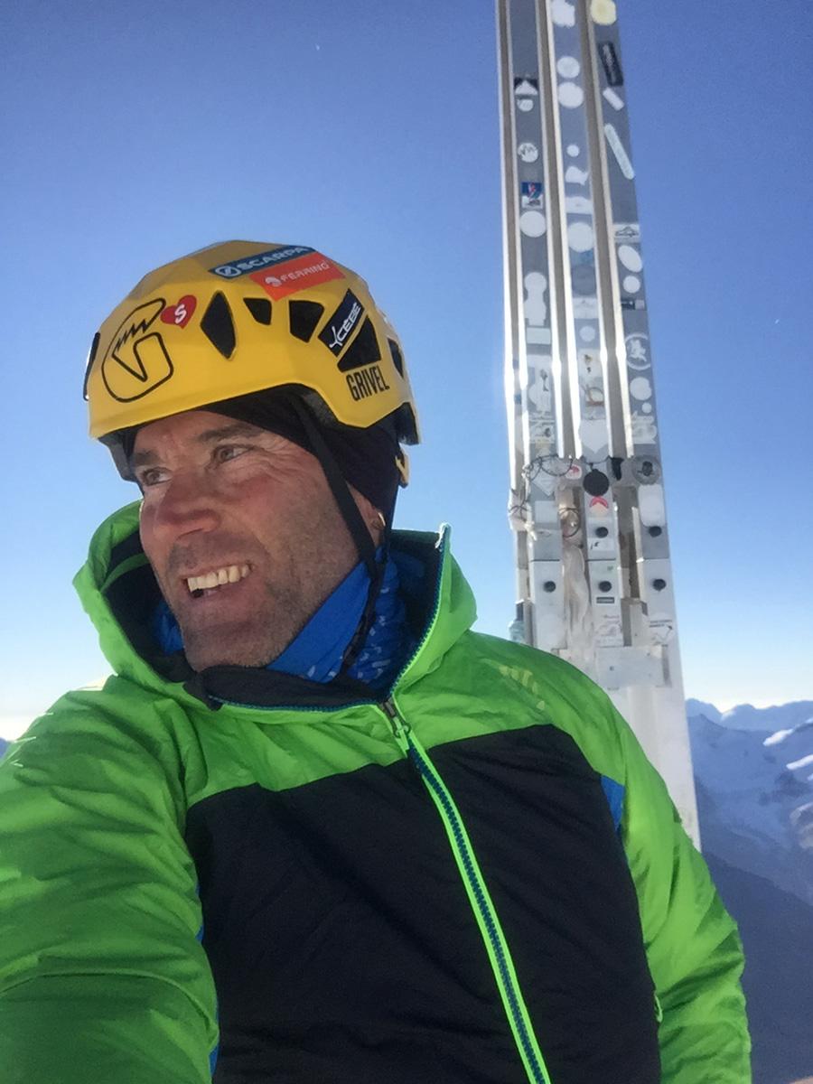 La guida alpina Marco Confortola