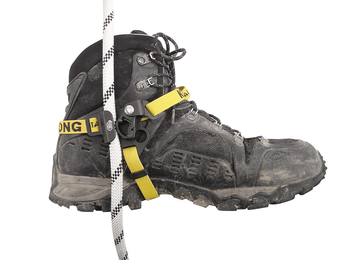 Bloccante per arrampicata e alpinismo e speleologia da piede Futura Foot.