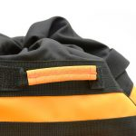 Detail of the climbing haulbag Omnibag by Kong