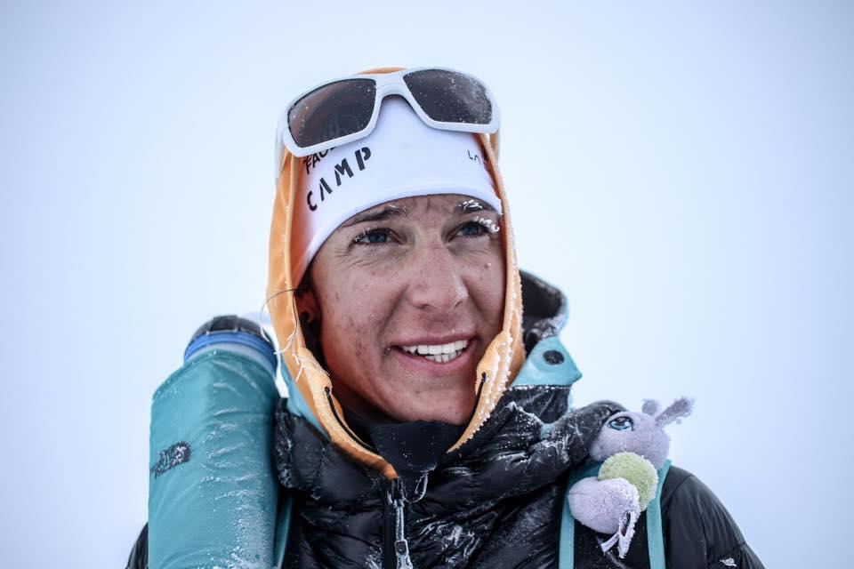 L'alpinista altoatesina Tamara Lunger nel team di atleti CAMP. Ha all'attivo il K2 e ha svolto un ruolo fondamentale nella prima invernale del Nanga Parbat. Ph Philipp Reiter