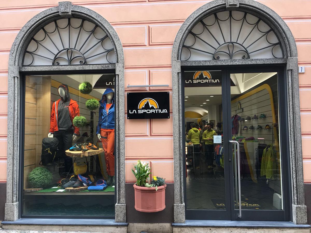La Sportiva Liguria nell'epicentro storico dell'arrampicata in Italia ed Europa, il quinto negozio mono marca del marchio Trentino che nel 2018 festeggia i 90 anni della propria storia