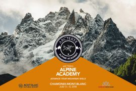 Dal 5 all'8 luglio 2018 vi aspetta il più importante evento formativo sull'alpinismo d'Europa nel cuore di Chamonix-Mont-Blanc.