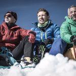 Simone Moro, Massimiliano Ossini e Lino Zani © Juri Baruffaldi