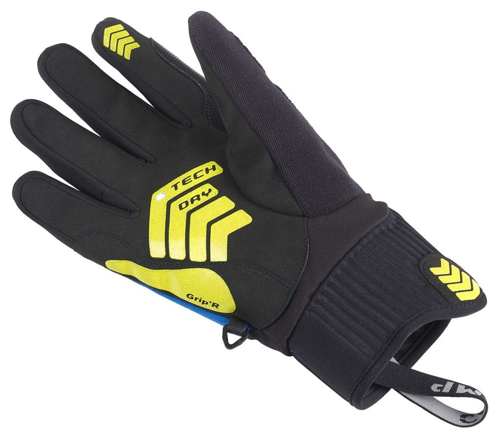 Climbing gloves CAMP G Tech Dry with waterproof/breathable membrane provides good protection from moisture and wind