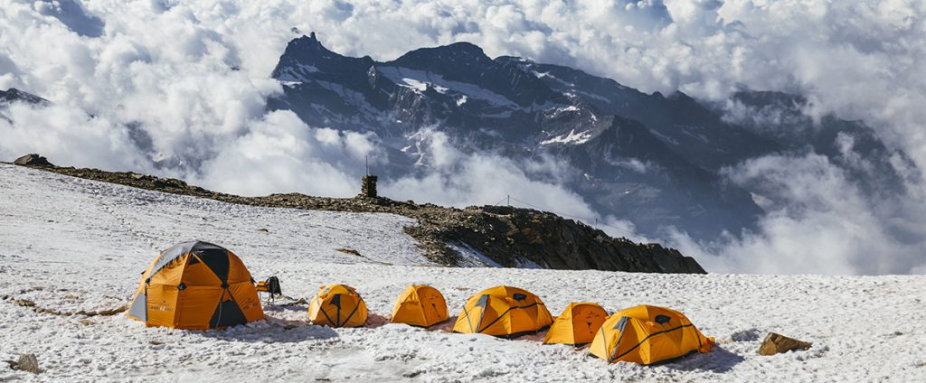 Ferrino base camps: a new camp at the Illa Refuge in the Pyrenees, Span, has been established. This joins Rifugio Quintino Sella on Monte Rosa and Rifugio Toesca in Val Susa.